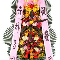 축하3단화환